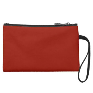 Deep Red Cosmetic Bag