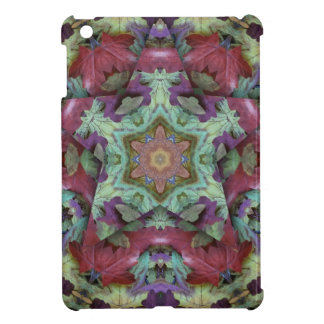 Deep Rich Fall Color 3d Star Cover For The iPad Mini