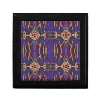 Deep Rich Purple Tribal Pattern Gift Box