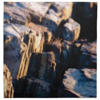 deep rock crevice napkin