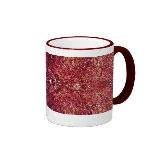 Deep Rose Coffee Cup Mugs