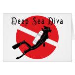 Deep Sea Diva Greeting Card