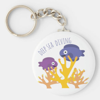 Deep Sea Diving Key Ring