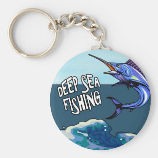Deep Sea Fishing Keychain