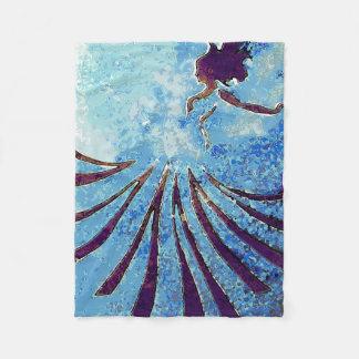 'Deep Sea' Fleece Blanket - Small
