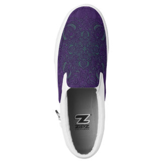 Deep Sea Glow Fleury Slip-On Shoes