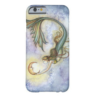 Deep Sea Moon Mermaid Fantasy Art iPhone 6 case Barely There iPhone 6 Case