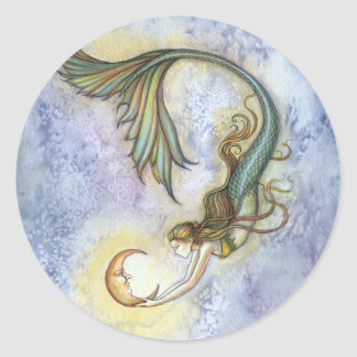 Deep Sea Moon Sticker