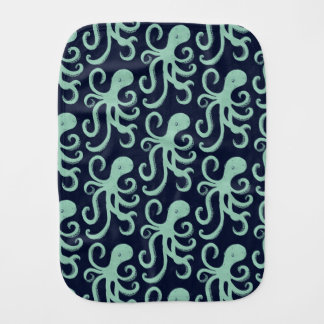 Deep Sea Octopus Burp Cloth