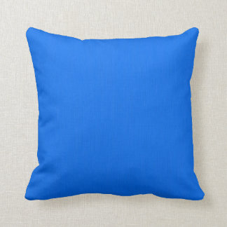 Deep Sky Blue Background Cushion