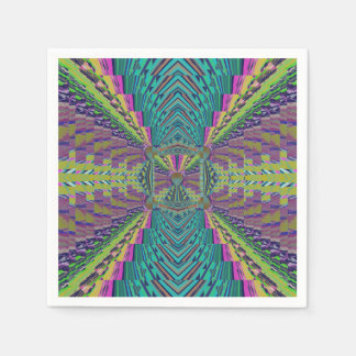 Deep Sound Crochet Look Disposable Napkin