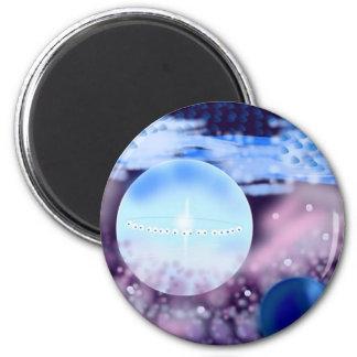 deep-space 6 cm round magnet