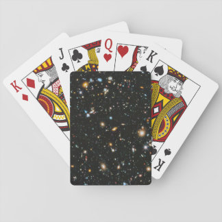 Deep Space Stars and Galaxies Playing Cards