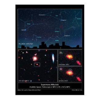 Deep Space Type II Supernova Mikulski Postcard