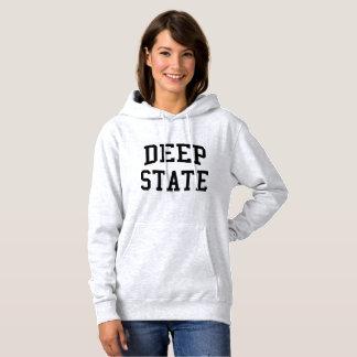Deep State women's hoodie