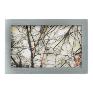 Deep Tree Rectangular Belt Buckles