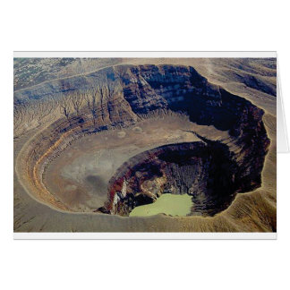 deep volcanic crater card