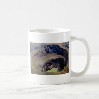deep volcanic crater coffee mug