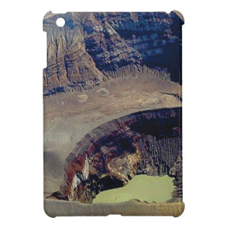 deep volcanic crater iPad mini cases
