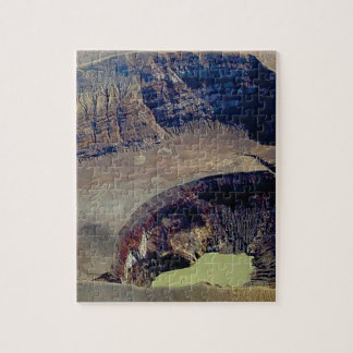 deep volcanic crater jigsaw puzzle