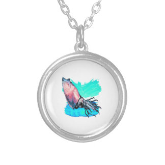 DEEP WATER EVENTS SILVER PLATED NECKLACE