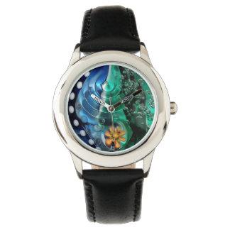 Deep water, macrophotography, sea, water, summer, wristwatch