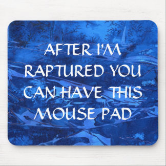 Deep Waters # 5 After Rapture mouse pad. Mouse Pad