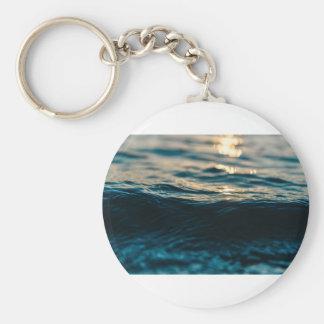 Deep Waves Key Ring