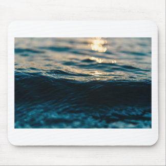 Deep Waves Mouse Pad