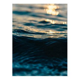 Deep Waves Postcard