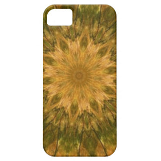 Deep Woods Camo Gold and Green Kaleidoscope iPhone 5 Covers