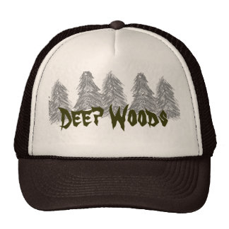 Deep Woods cap Trucker Hat
