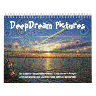DeepDream Pictures Wall Calendars