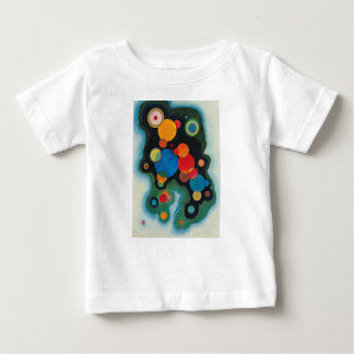Deepened Impulse Abstract Oil on Canvas Kandinsky Baby T-Shirt