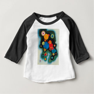Deepened Impulse Abstract Oil on Canvas Kandinsky Baby T-Shirt