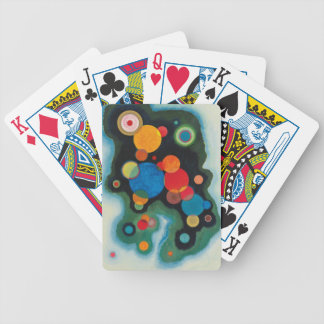Deepened Impulse Abstract Oil on Canvas Kandinsky Bicycle Playing Cards