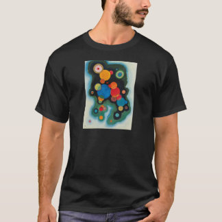 Deepened Impulse Abstract Oil on Canvas Kandinsky T-Shirt