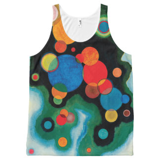 Deepened Impulse by Wassily Kandinsky All-Over Print Tank Top