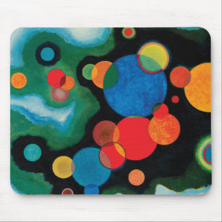 Deepened Impulse by Wassily Kandinsky Mouse Pad