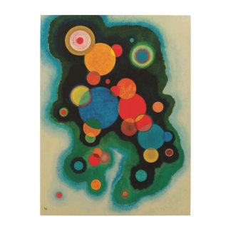 Deepened Impulse by Wassily Kandinsky Wood Print