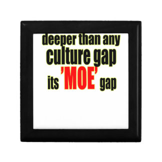 deeper culture moe gap definition for fun joke mem gift box