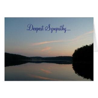 Deepest Sympathy... card