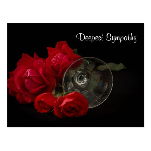 Deepest Sympathy Post Cards