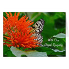 Deepest Sympathy with butterfly Card