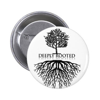 Deeply Rooted 2017 6 Cm Round Badge