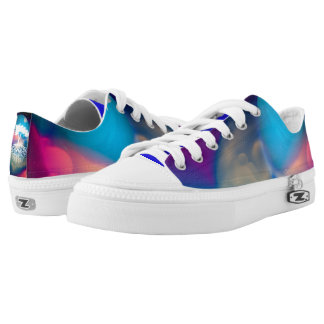Deeply Rooted Moon Abstract Low Tops