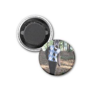 Deer 3 Cm Round Magnet
