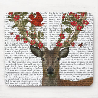 Deer and Love Birds 2 Mouse Pad