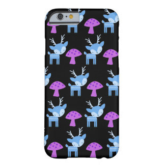 Deer And Mushroom Barely There Cases