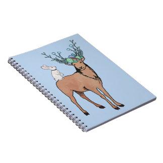 Deer and Rabbit Notebooks